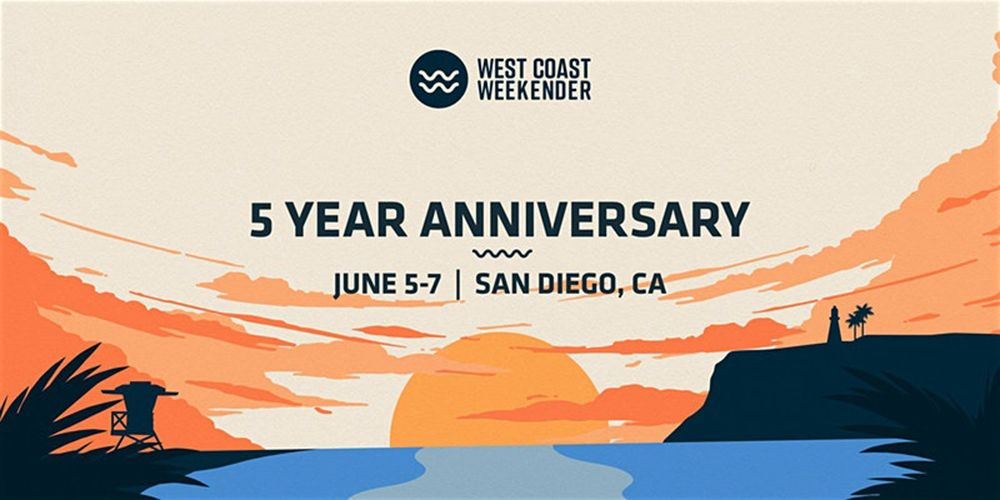 West Coast Weekender Discount Tickets