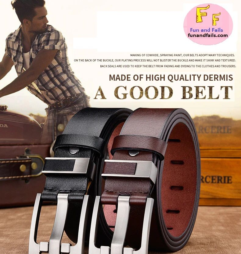 MNML Jeans Belts by Fun and Fails
