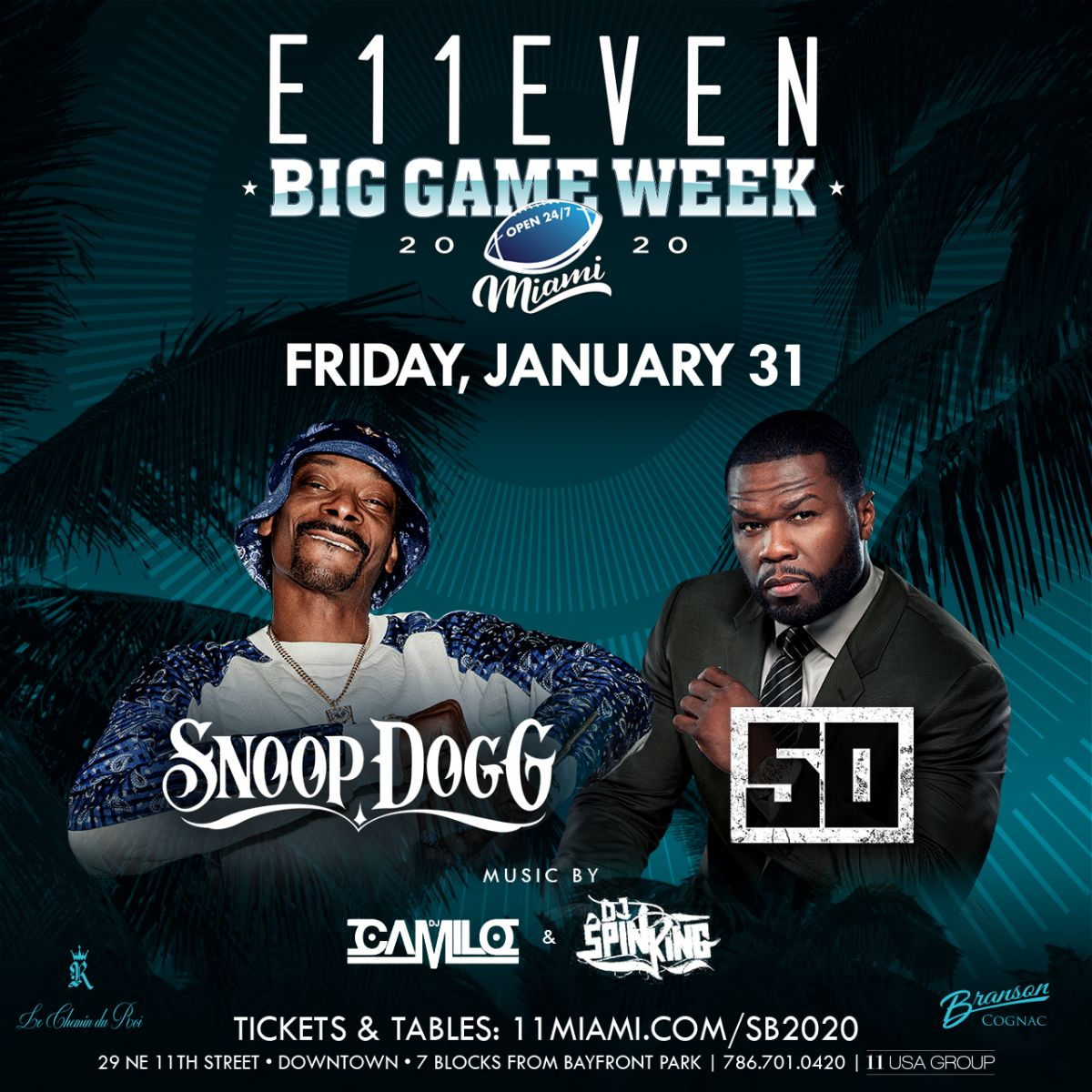 Big Game Week: Snoop Dogg & 50 Cent