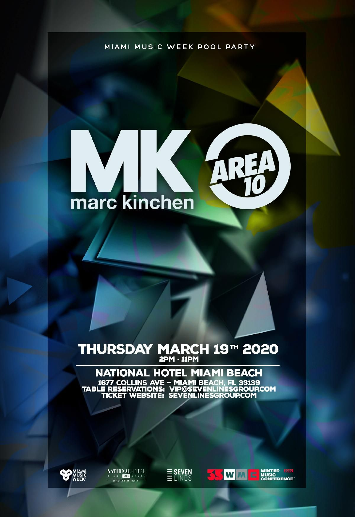 MK Area 10 Pool Party MMW Discount Promo Code