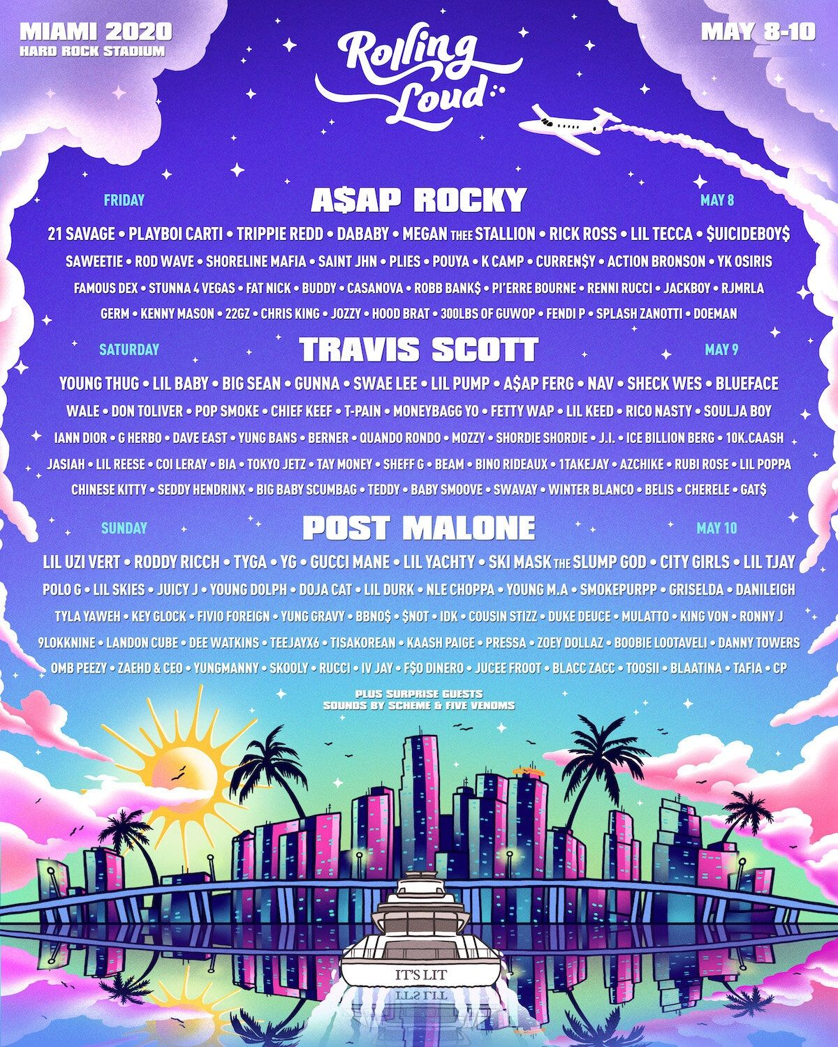 Rolling Loud Festival Miami at Hard Rock Stadium