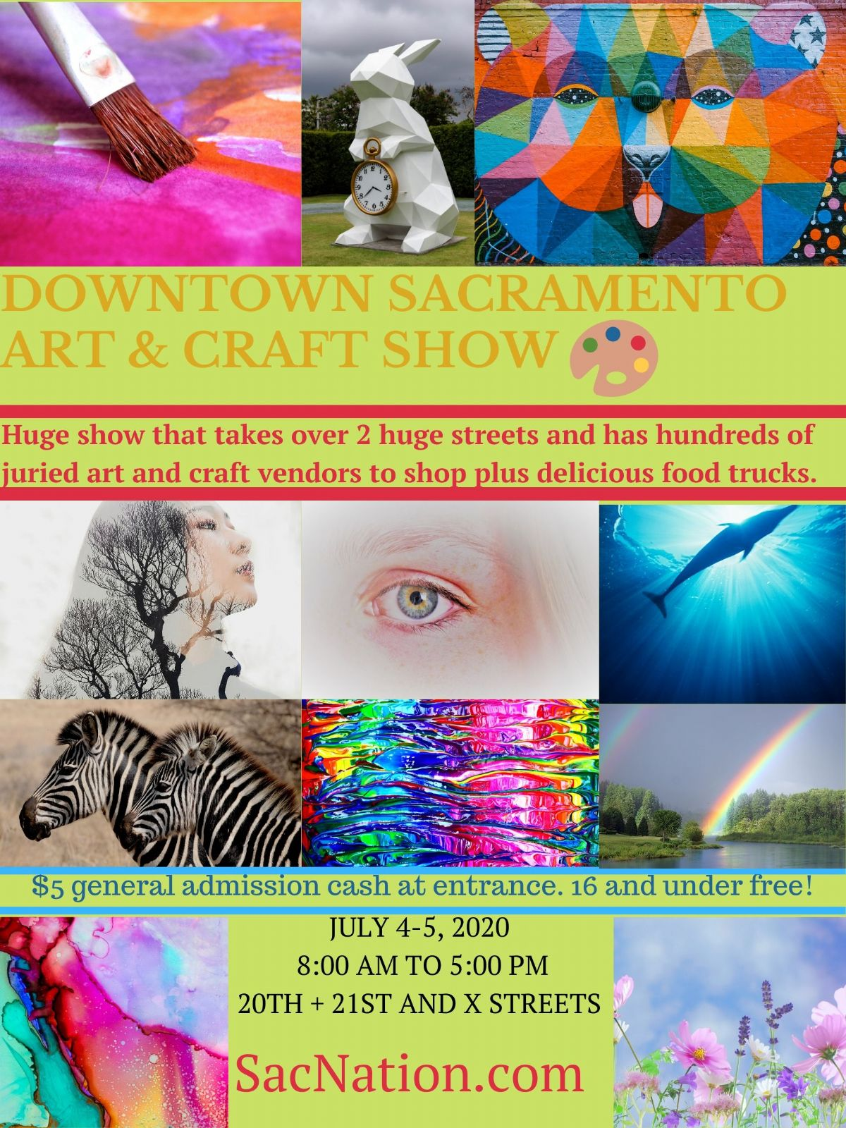 The Downtown Sacramento Art And Craft Show
