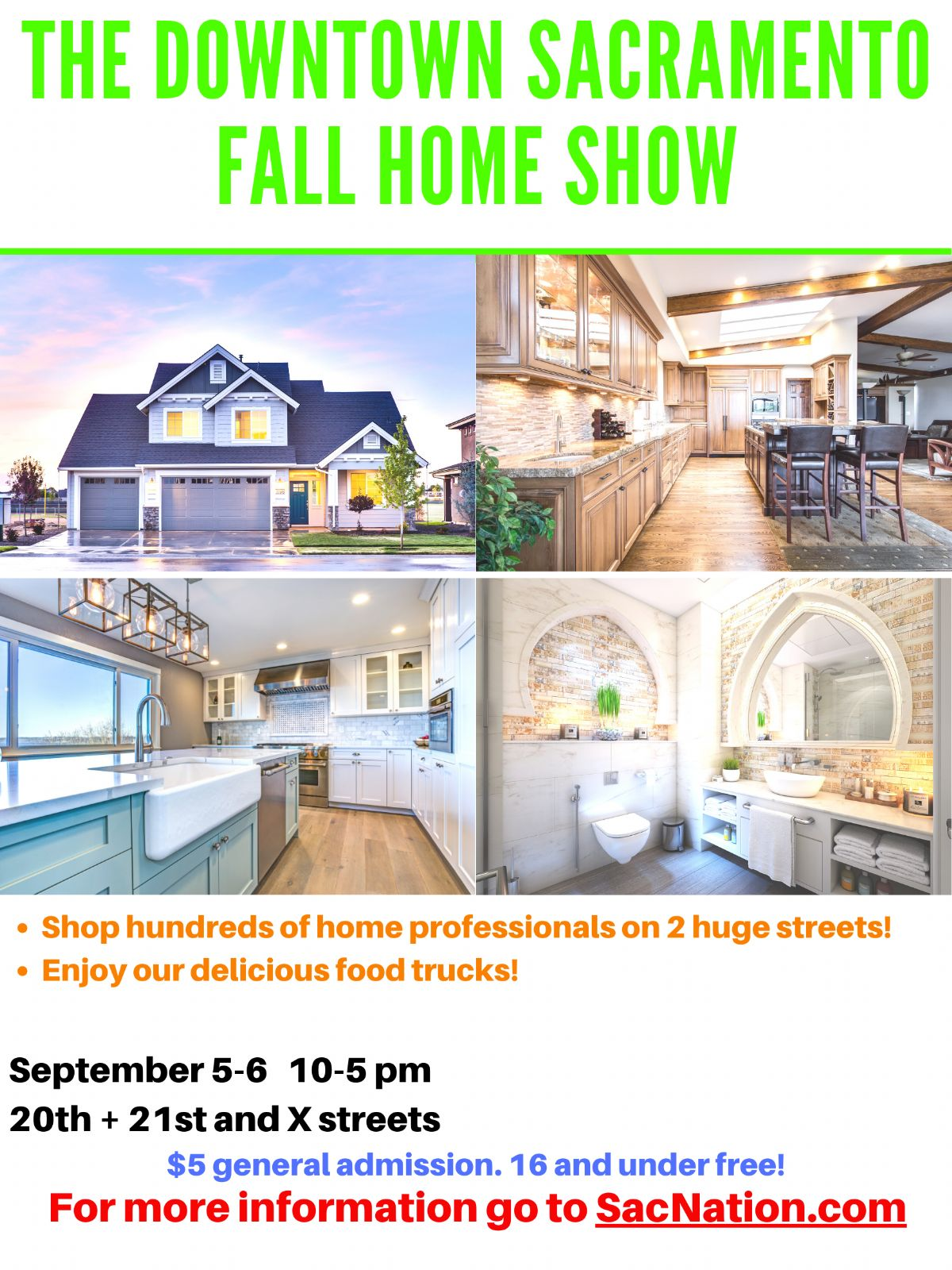 The Downtown Sacramento Fall Home Show