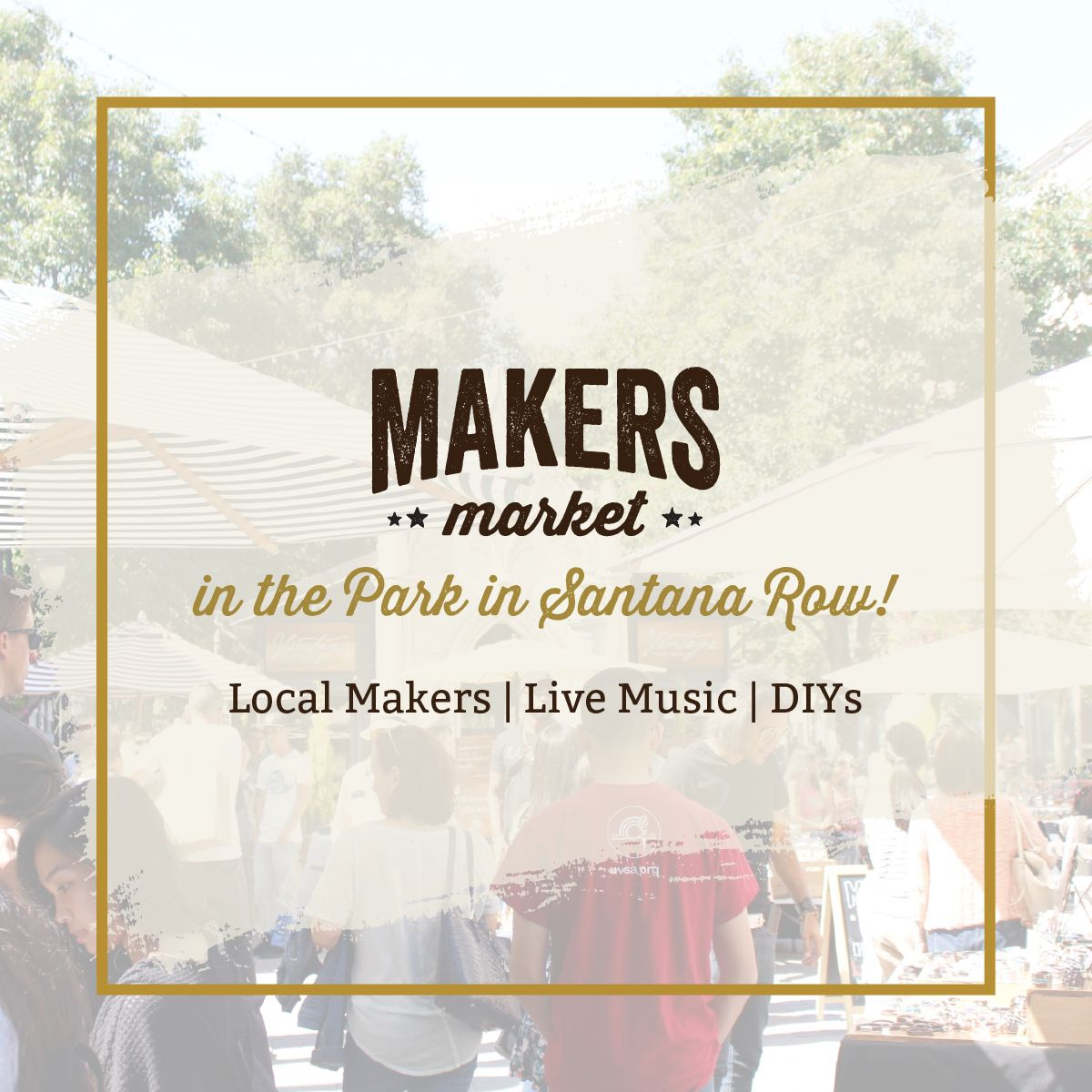Makers Market in the Park - An Open Air Craft Market