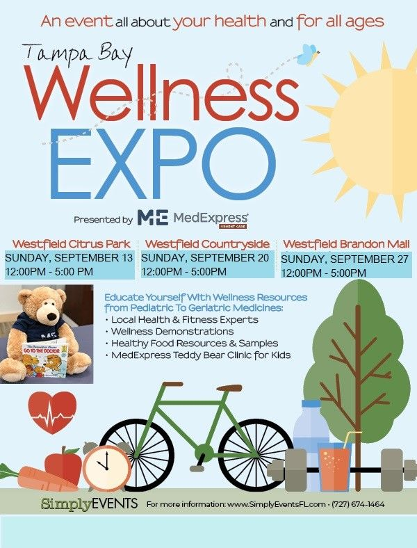 Tampa Bay Wellness Expo @ Westfield Brandon Mall