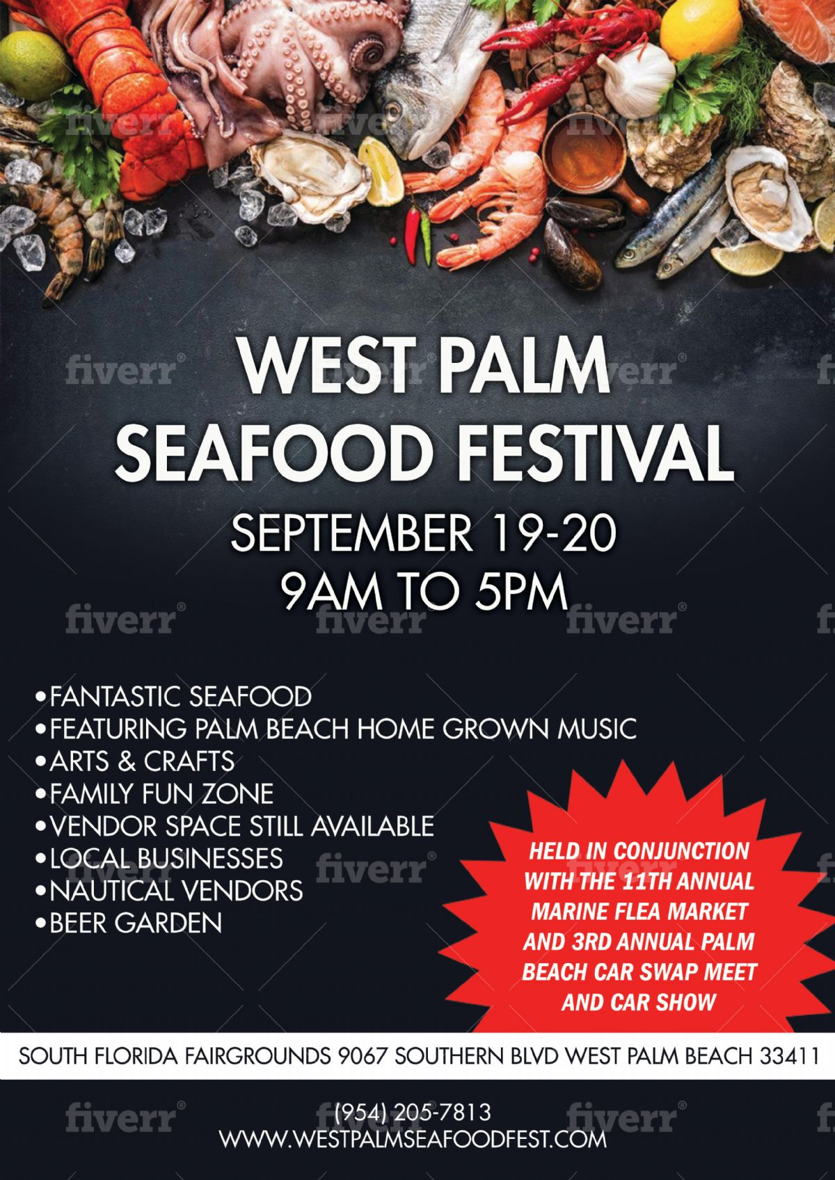 West Palm Seafood Festival - West Palm Beach