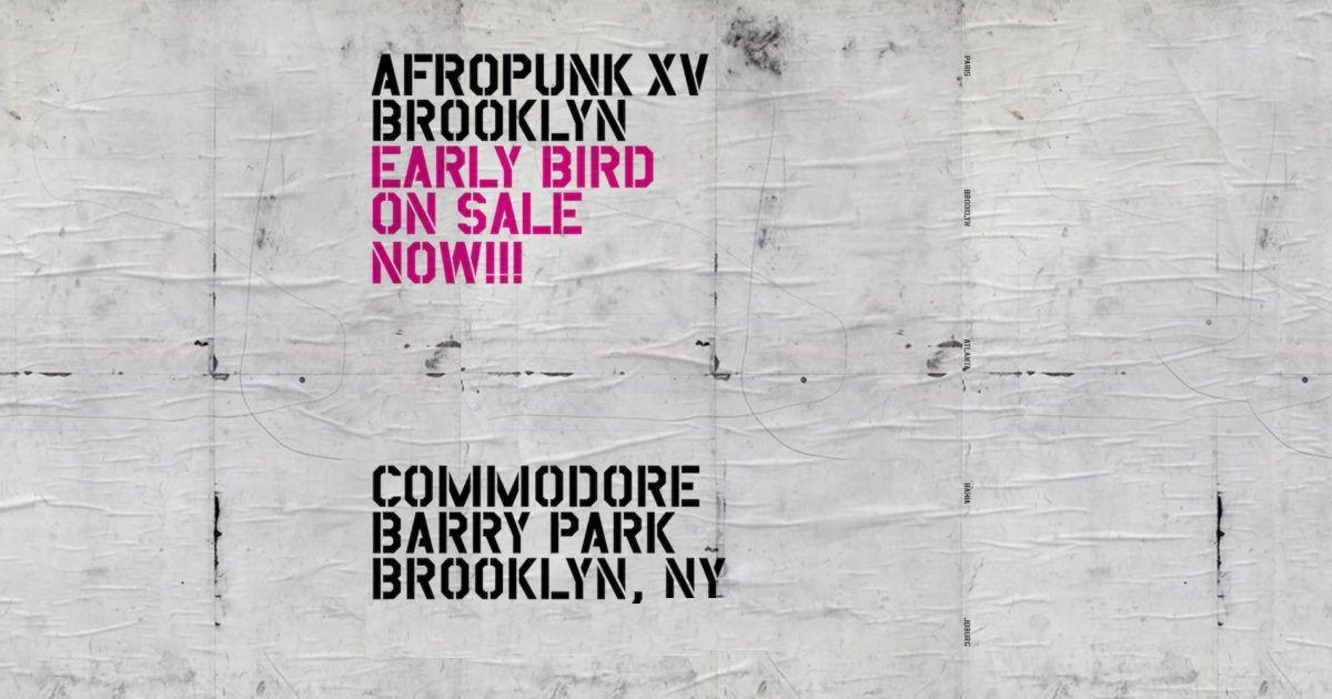 Afropunk Music Festival - Brooklyn