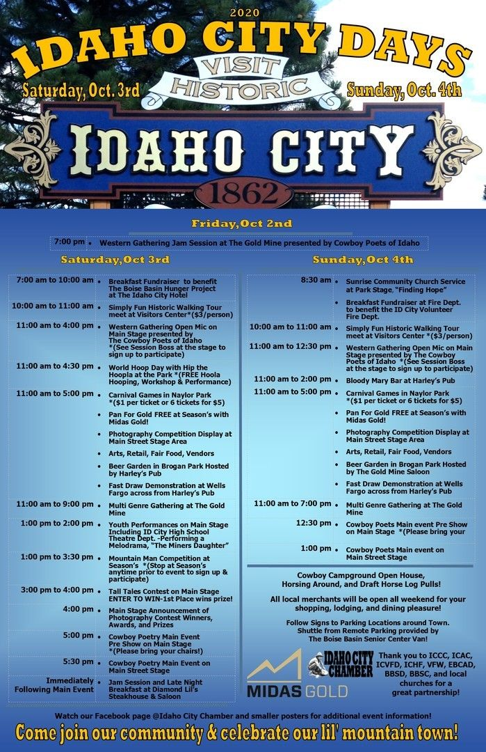 Idaho City Days