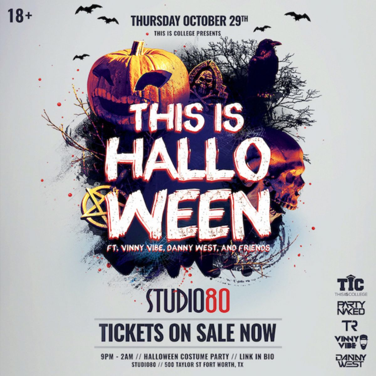 Fort Worth Halloween Party Discount Code