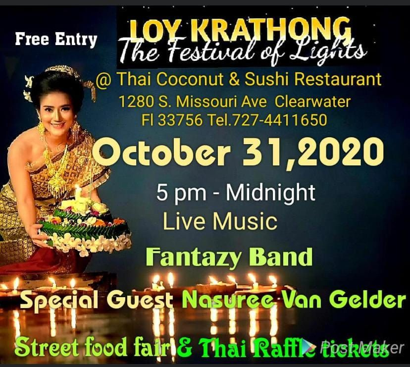 Celebrate Loy Krathong Thai Festival