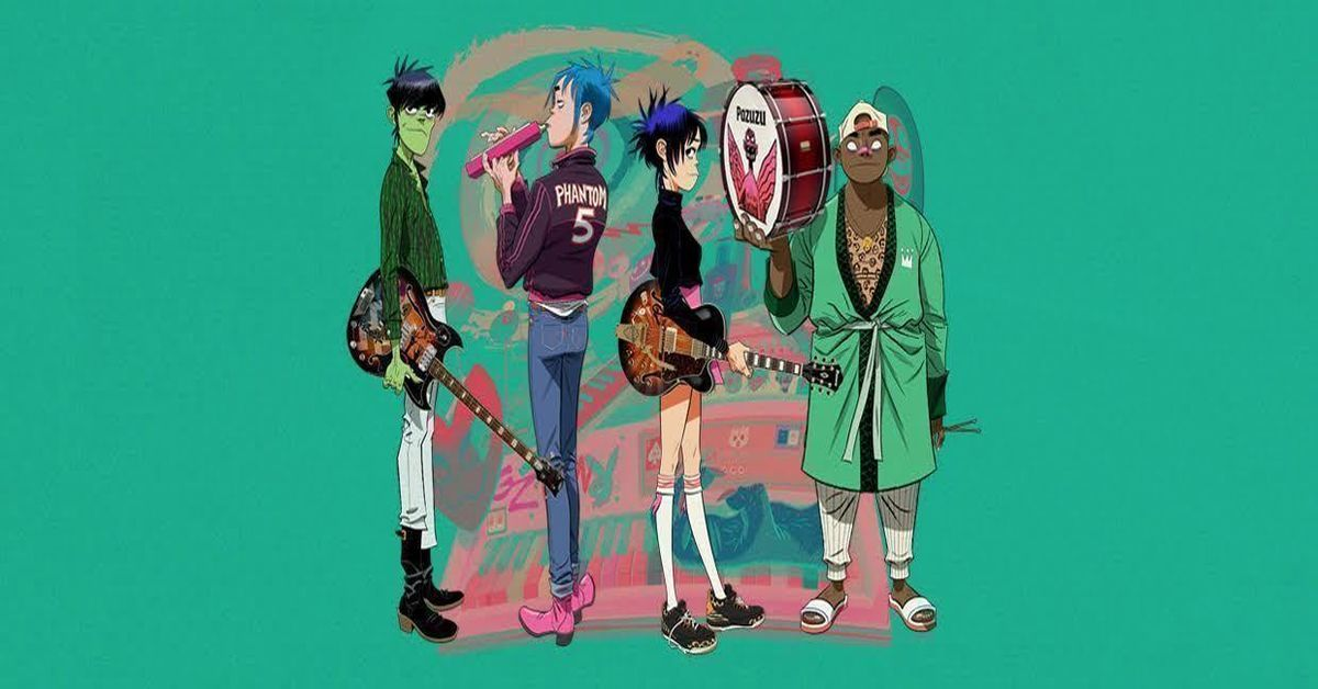 Gorillaz Song Machine Live on LIVENow - Buy Tickets $15 - Virtual Event - Louisville